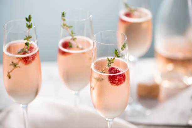 Rose Champagner Cocktails – Foto