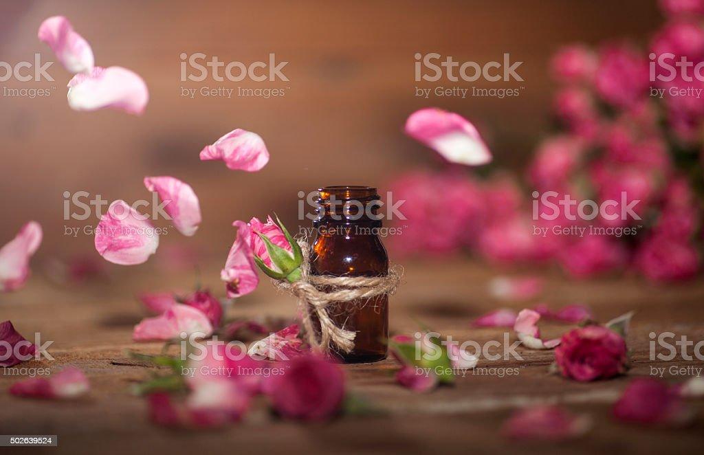 Rose ätherischen Ölen – Foto