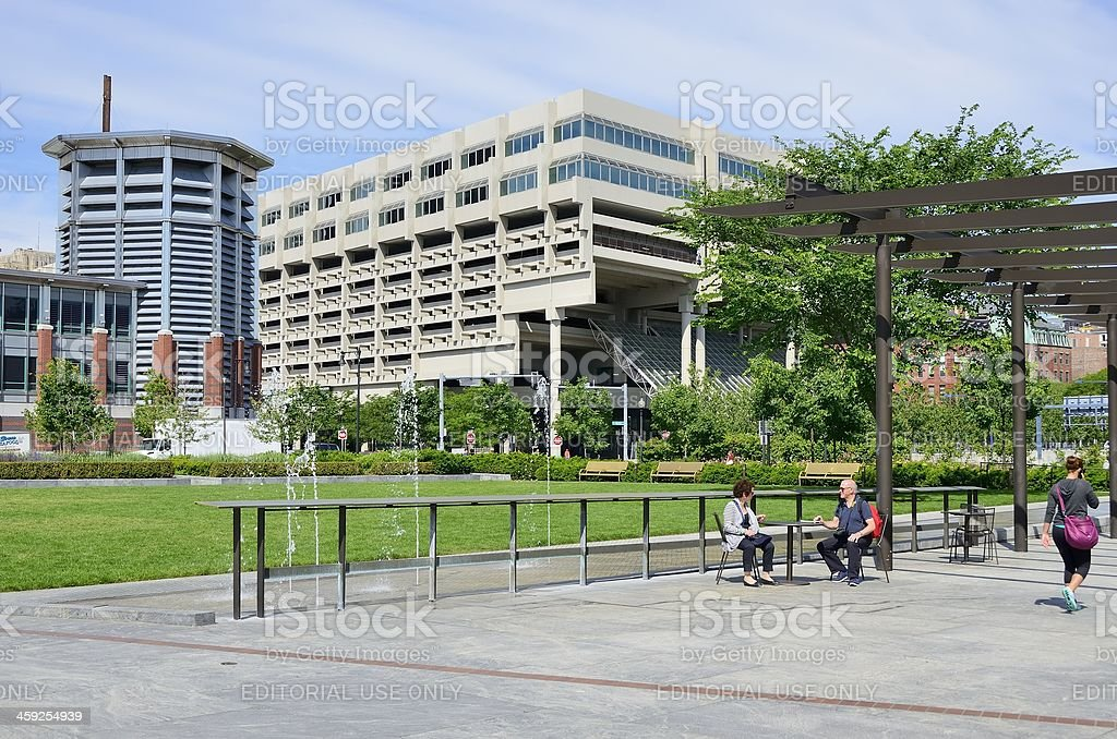 Rose Fitzgerald Kennedy Greenway Stock Photo More Pictures Of Blue