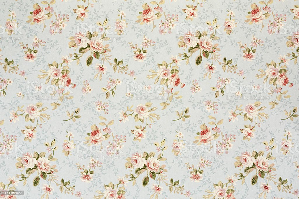 Rose floral tapestry, romantic texture background royalty-free stock photo