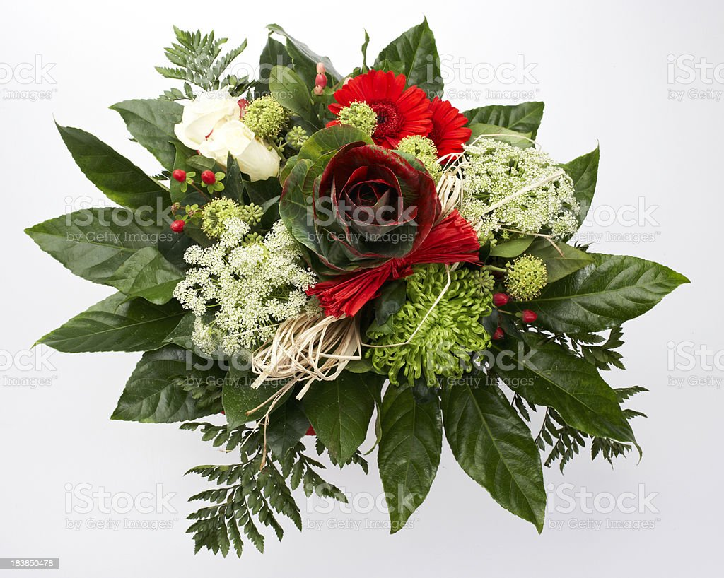 Rose Flower Bouquet From Above Stock Photo More Pictures Of