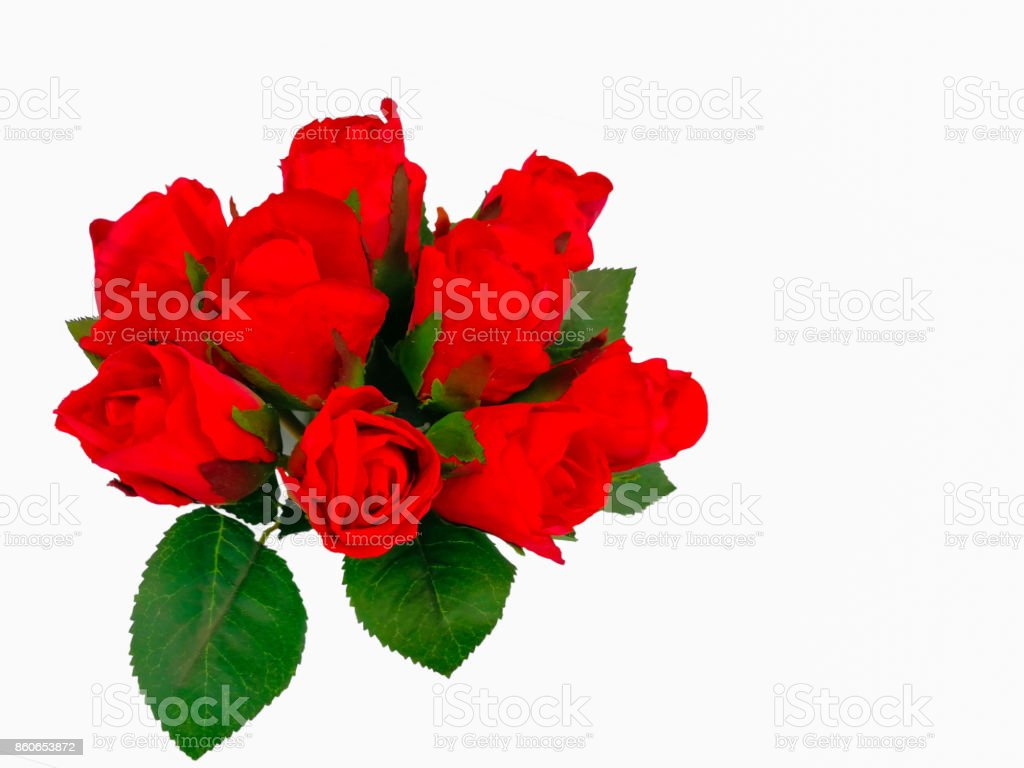 Rose - Flower, Bunch of Flowers, Bouquet, Flower, Vase stock photo