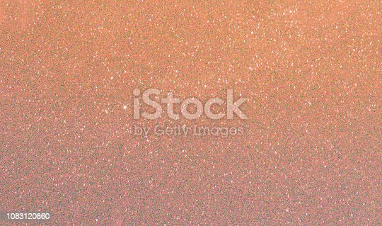 istock Rose gold  celebration background for anniversary, New Year Eve, Christmas, falling coins, wedding or birthday 1083120860