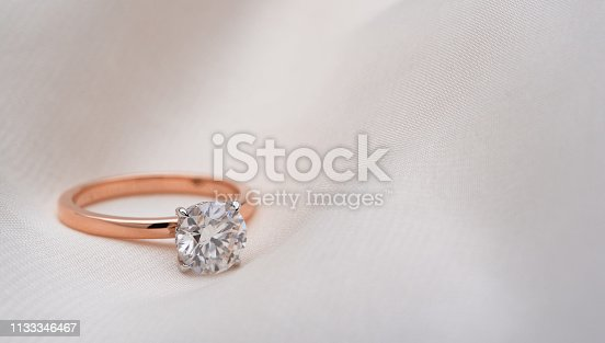 Engagement jewelry ring background