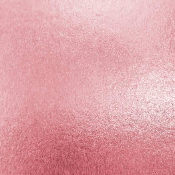 Stiegen die Goldfolie Textur Hintergrund Glänzendes Papier Blatt in rosa lila Farbe mit hellen brillant glänzend metallische Material Reflexionsfläche – Foto
