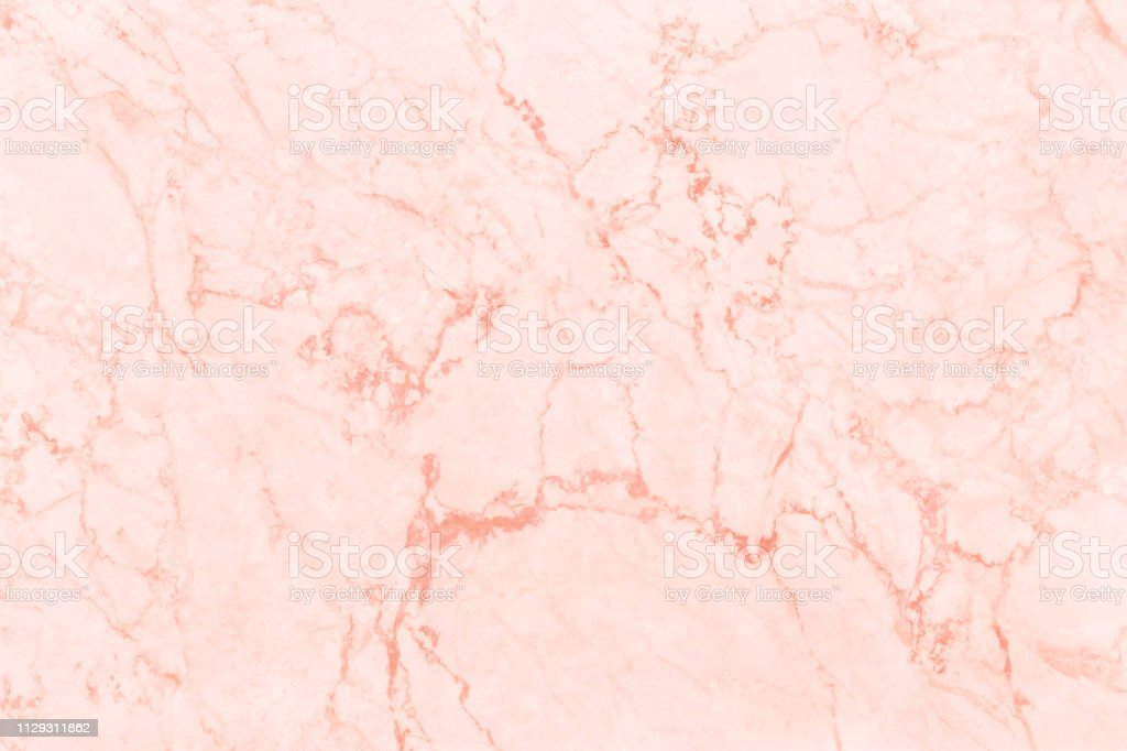 Rose Gold Marble Texture Background With High Resolution Top View