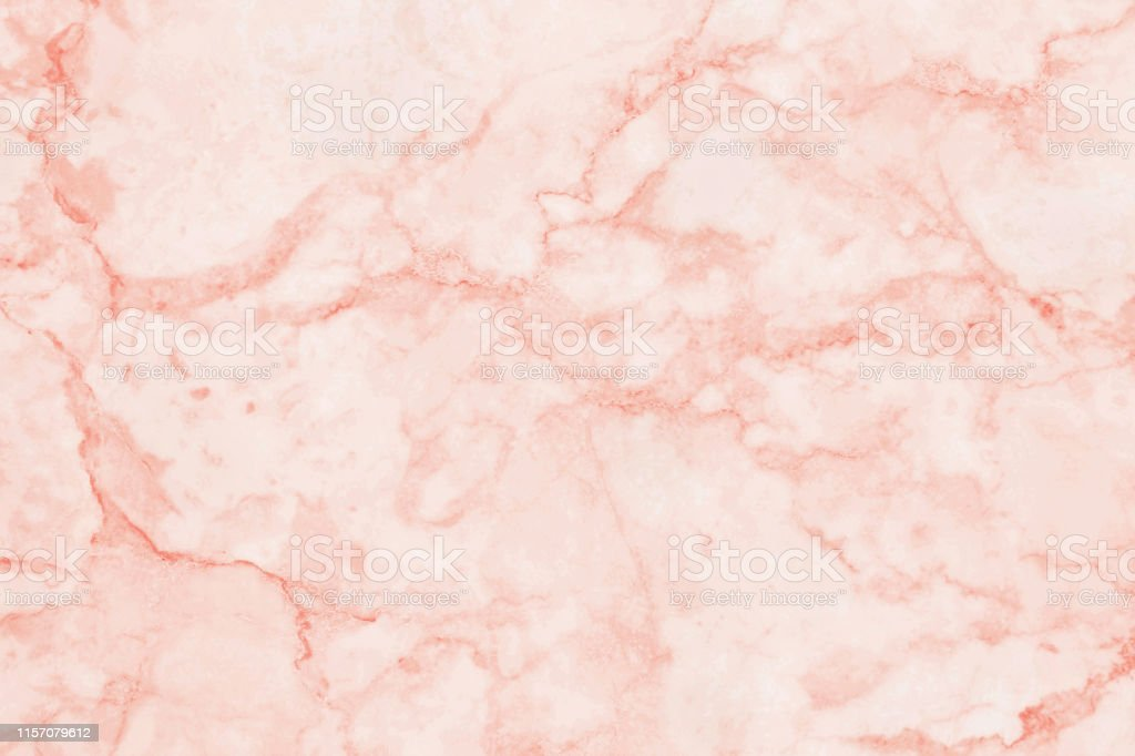 Rose Gold Marble Texture In Natural Pattern With High Resolution