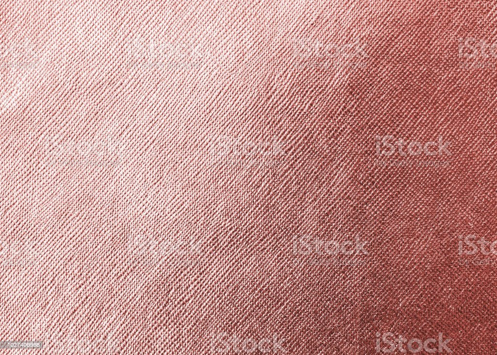 Rose Gold Pink Texture Metallic Wrapping Foil Paper Shiny