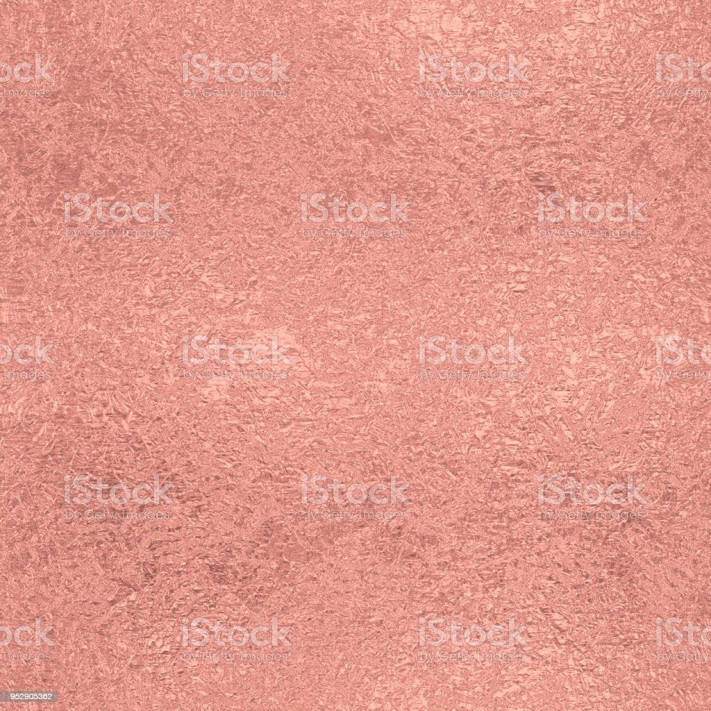 Rose gold seamless vintage pattern stock photo