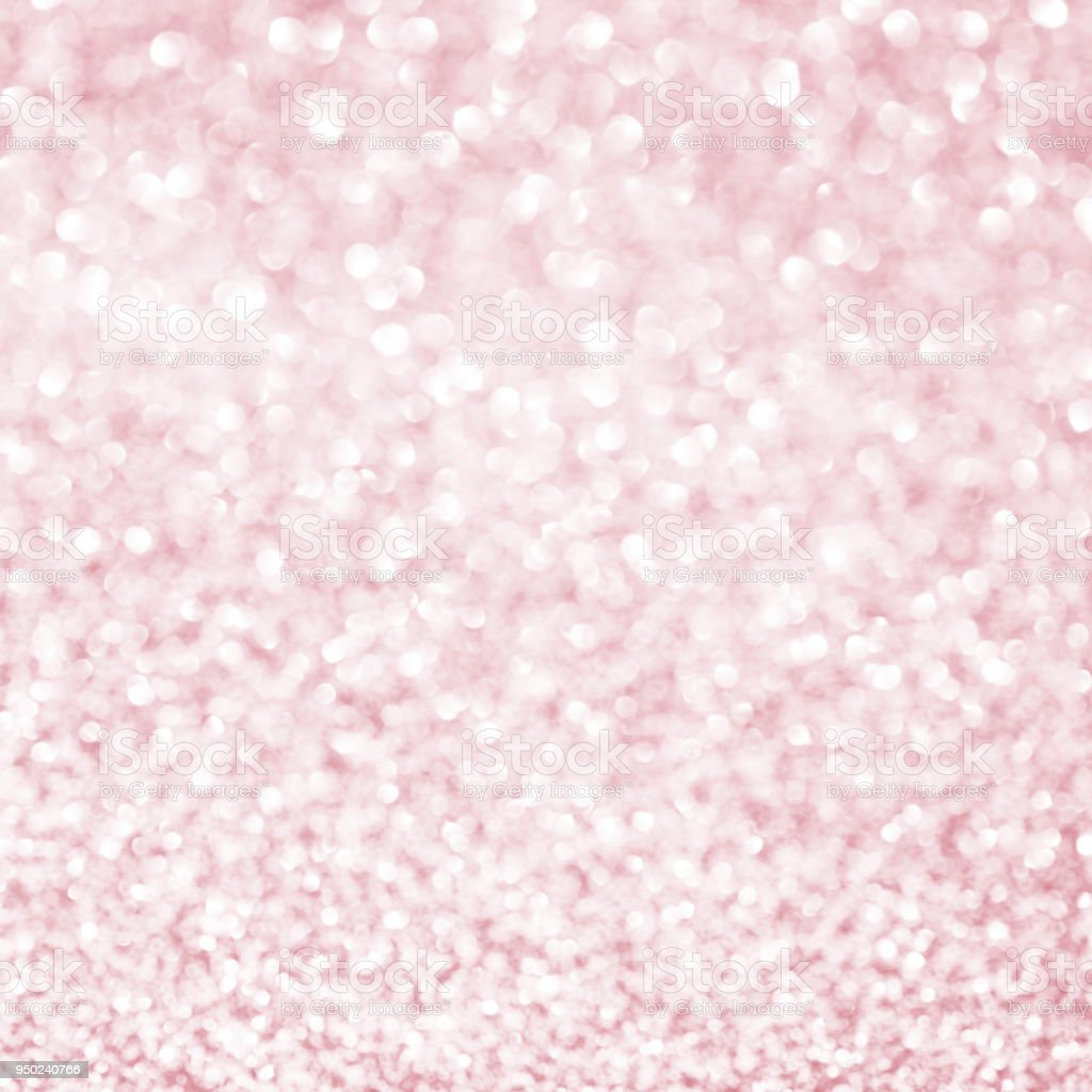 Rose Gold Sparkle Glitter For Christmas Background Royalty Free Stock Photo