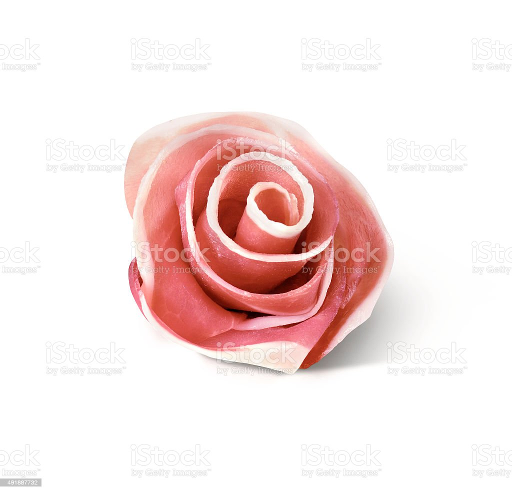 rose ham stock photo