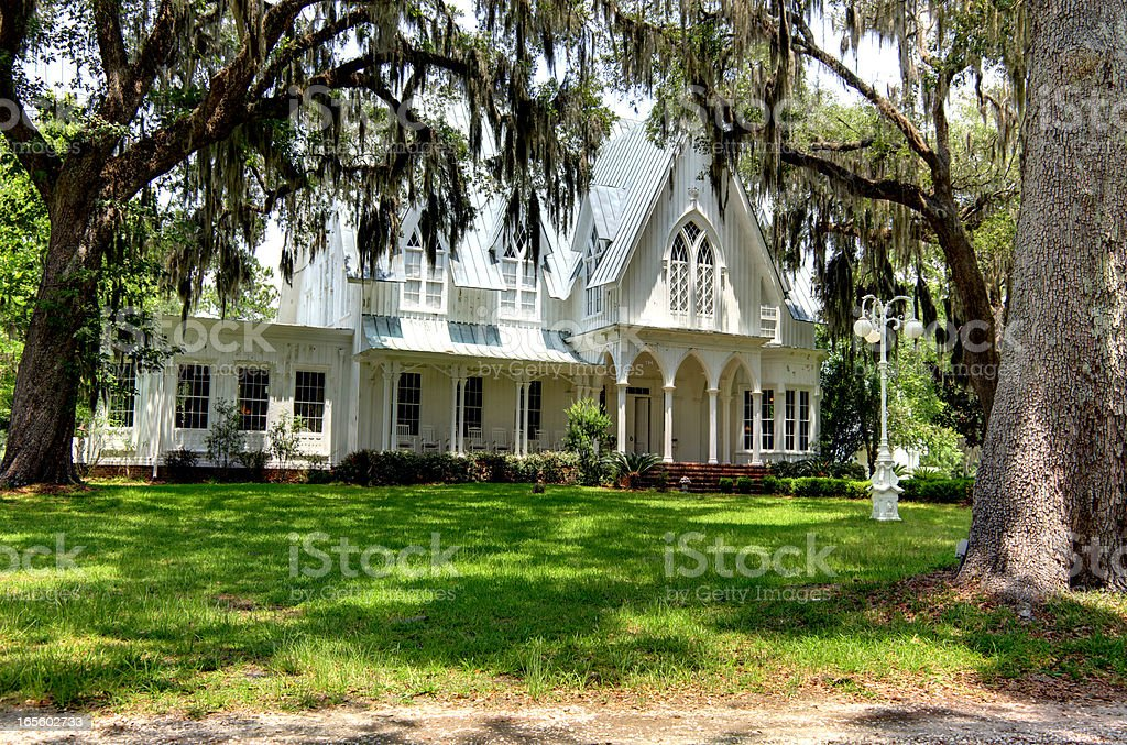 Rose Hill Mansion stock photo