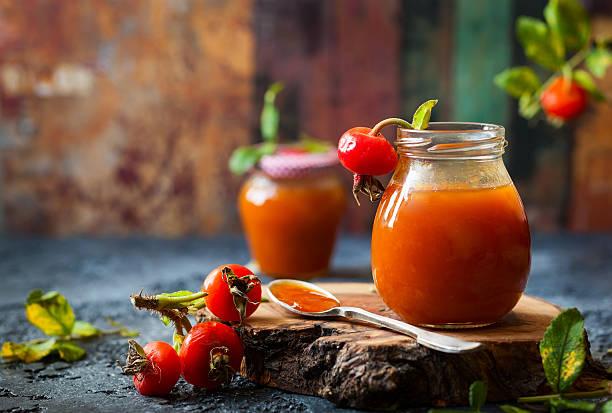 Hagebutten-Marmelade – Foto