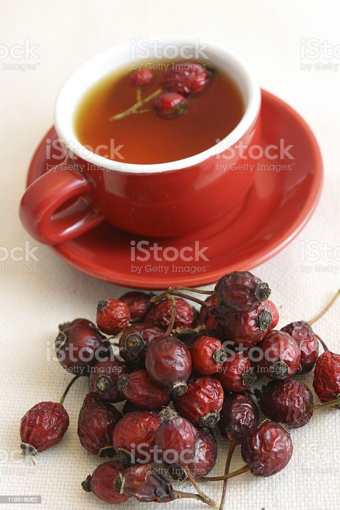 Rose Hip Tea royalty-free stock photo