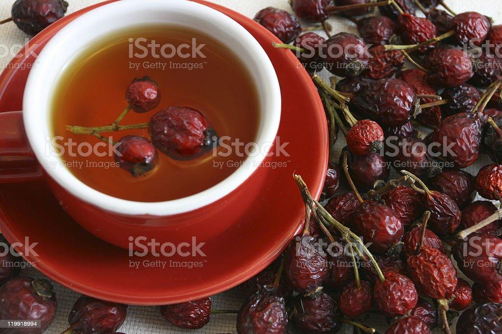 Rose Hip Tea stock photo