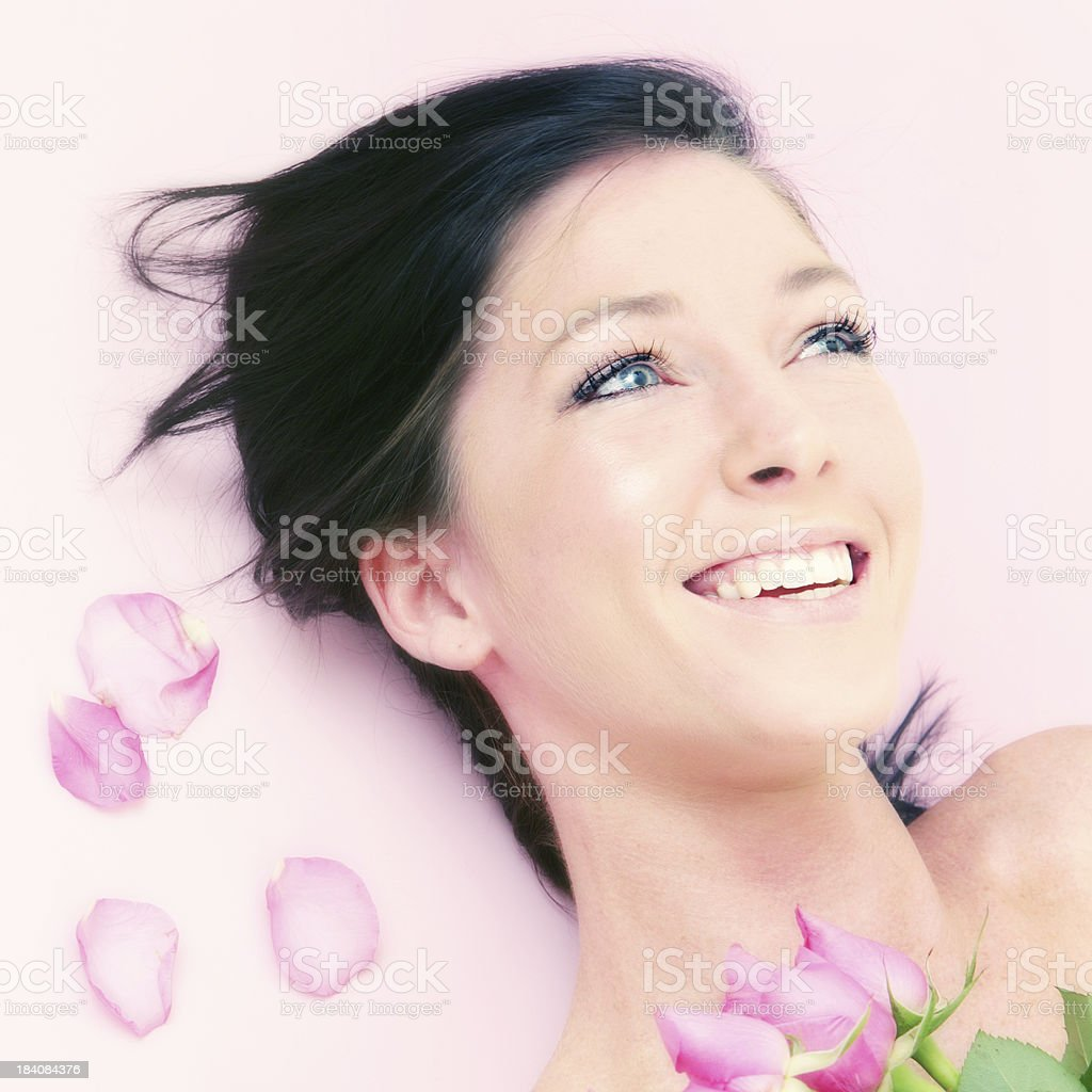 Rose Laughter royalty-free stock photo