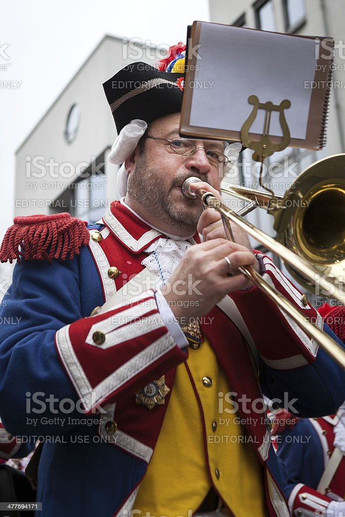 Rose Monday Carnival Parade Mainz 2014 royalty-free stock photo