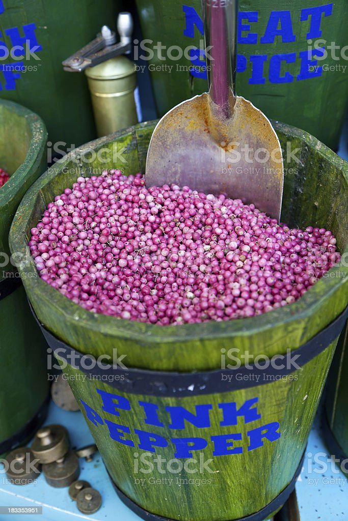 Rose Pepper stock photo