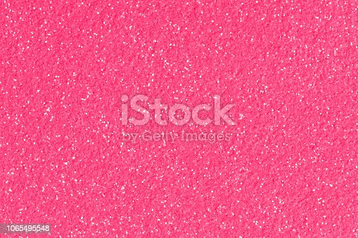 istock Rose pink red glitter background sparkling shiny wrapping paper texture for Christmas decoration. 1065495548