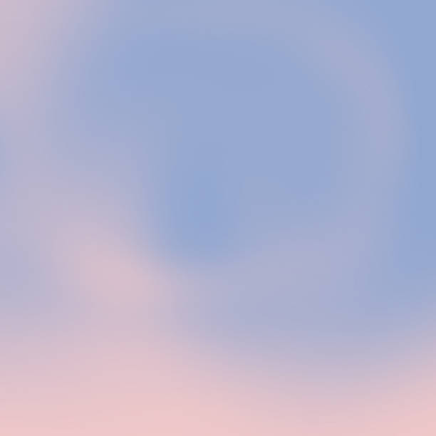 rose quartz pink and serenity blue blured background - rose quartz stock photos and pictures