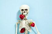 rose skeleton