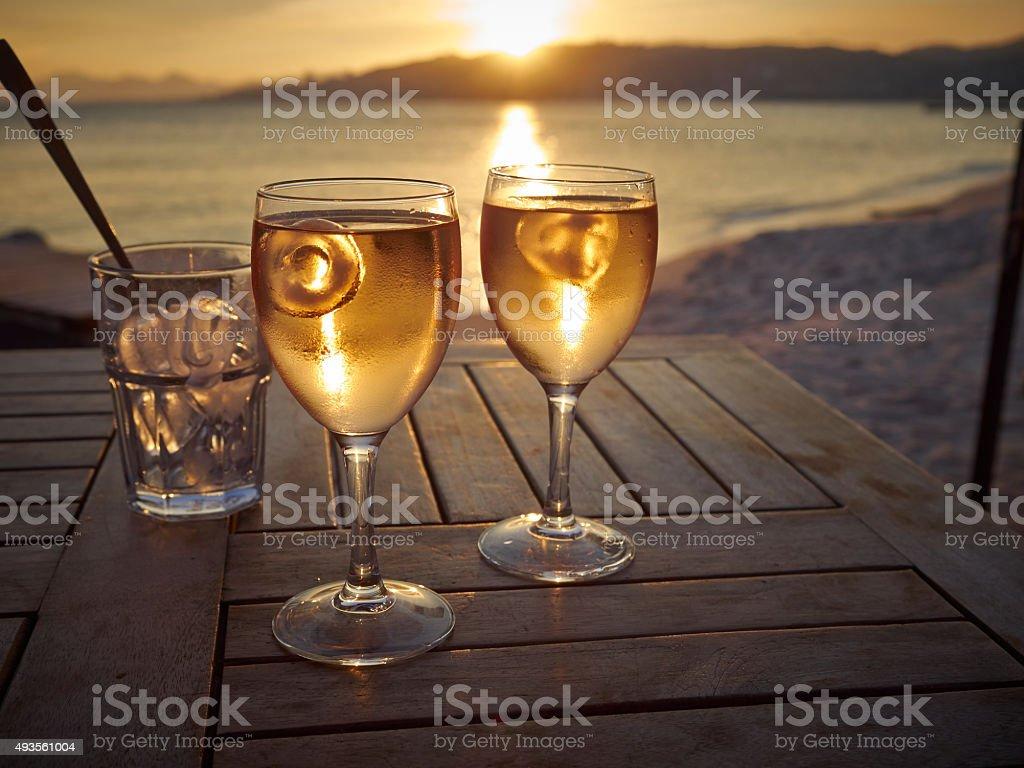 Rose Sunset stock photo