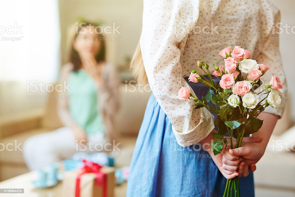 Rose surprise stock photo