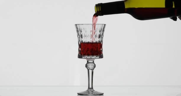 Rose wine red wine pour in wine glass over white background picture id1151422920?b=1&k=6&m=1151422920&s=612x612&w=0&h=57ctjdki98lpsh631l3dgoeqi8dblplc rnn btwsn4=