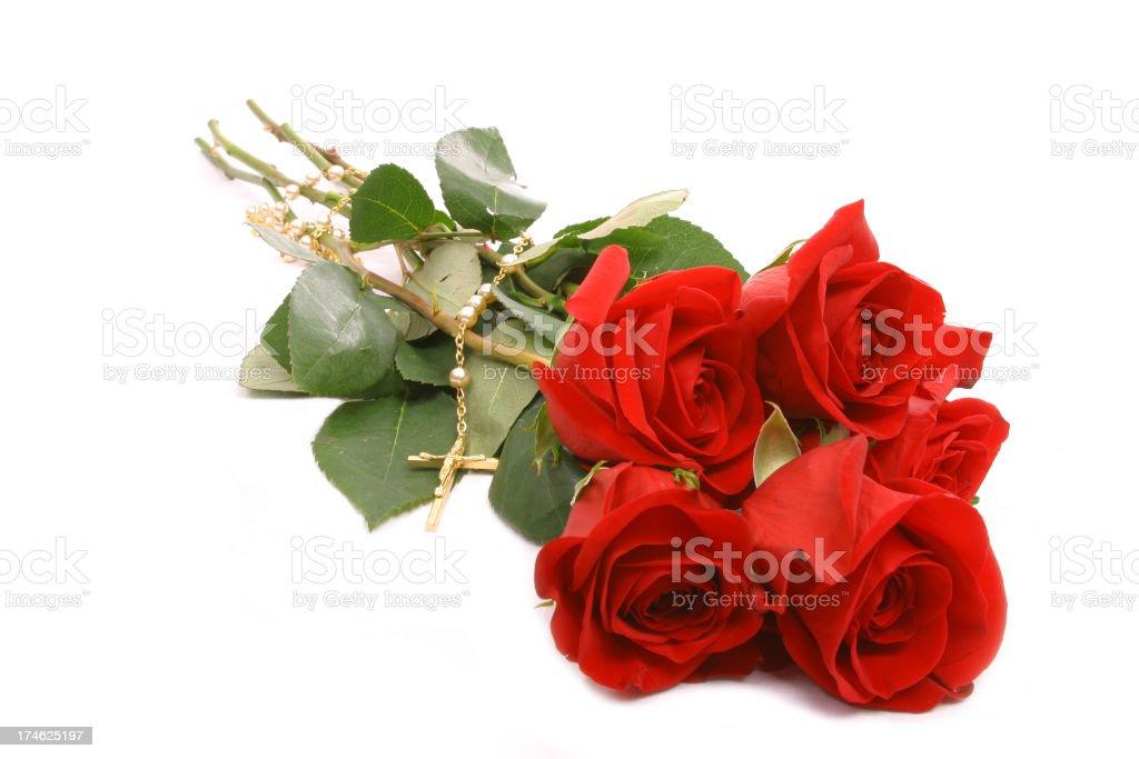 Rose-ary royalty-free stock photo
