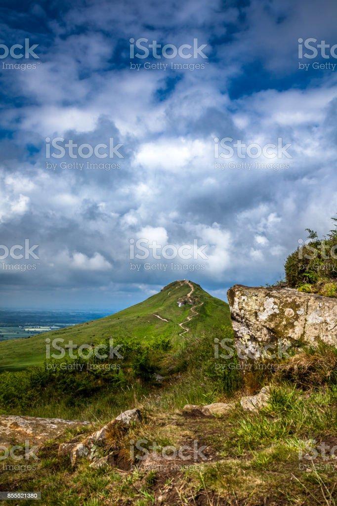 Roseberry Topping stock photo