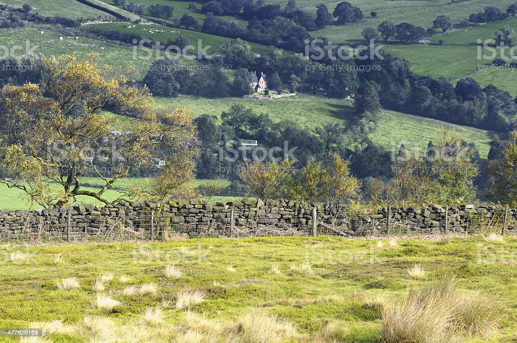 Rosedale, North York Moors, England, UK royalty-free stock photo