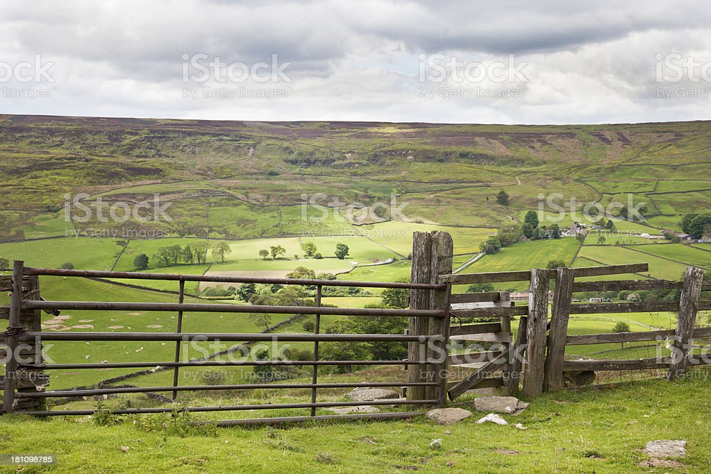 Rosedale, North Yorkshire stock photo