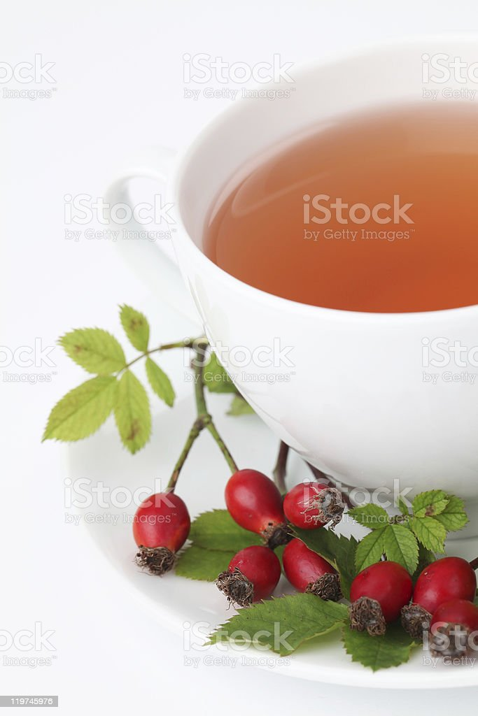 Rosehip tea royalty-free stock photo