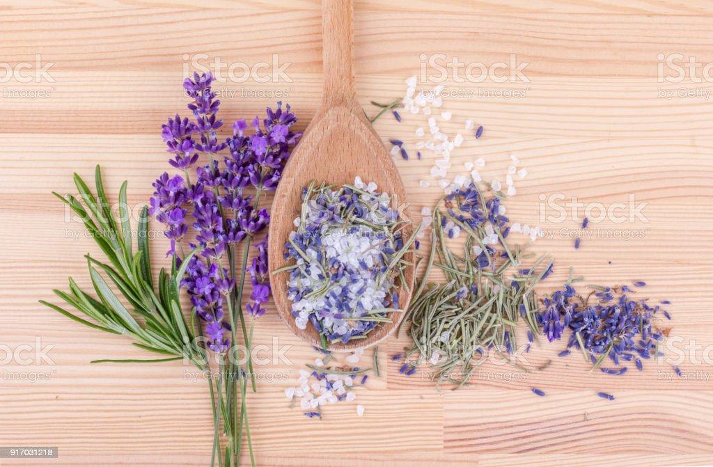 Rosmarin und Lavendel – Foto