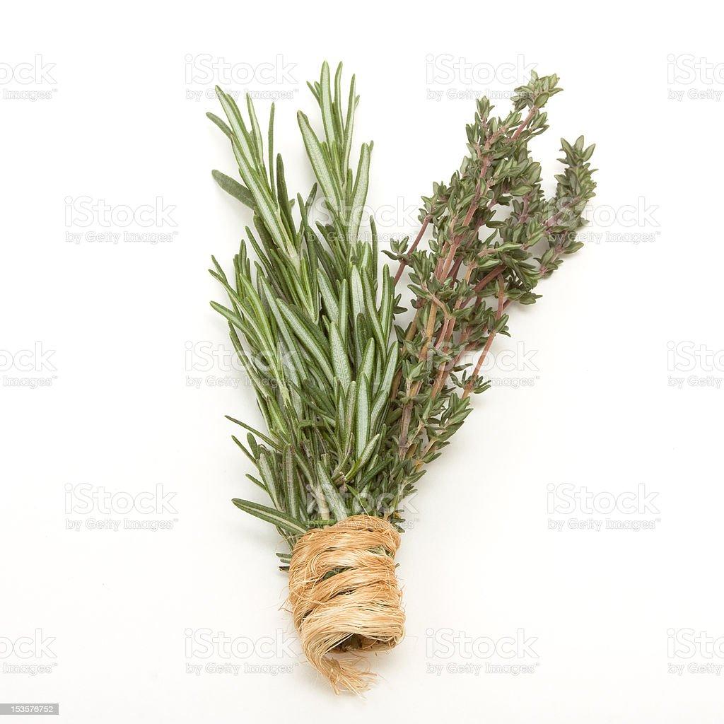 Rosemary n Thyme stock photo