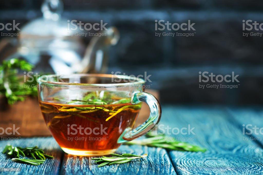 ローズマリー茶 ストックフォト
