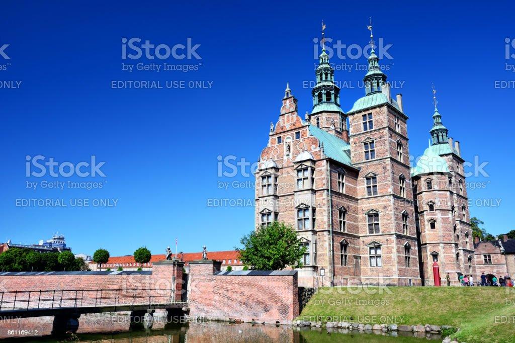 Rosenborg Castle, Copenhagen stock photo