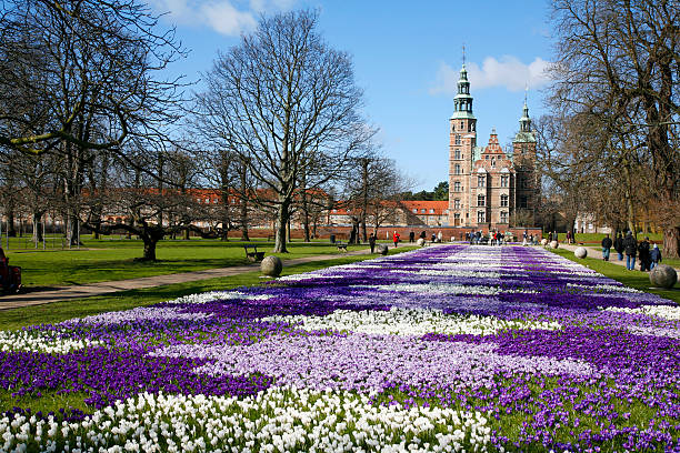 rosenborg castle - denmark stock photos and pictures