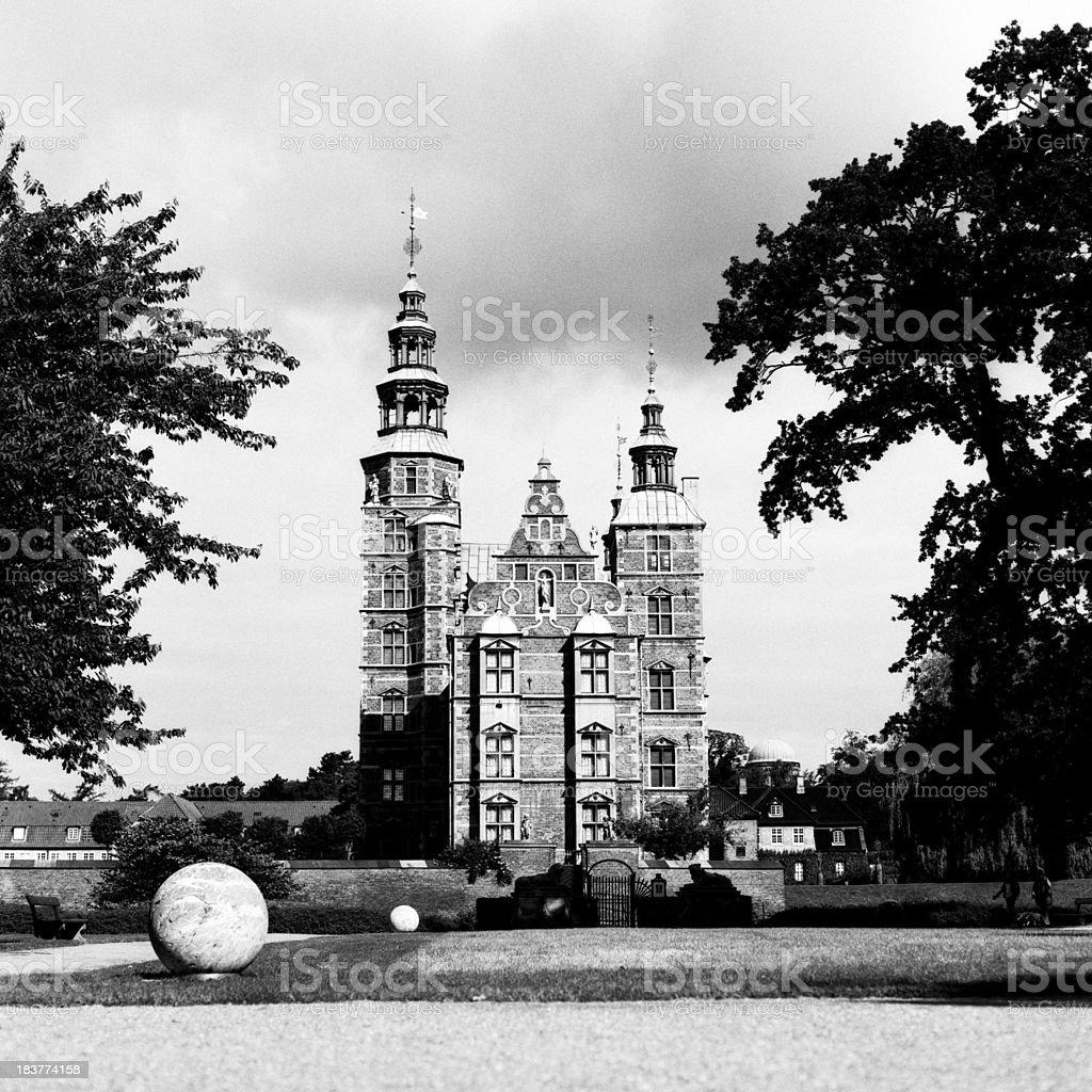 Schloss Rosenborg Lizenzfreies stock-foto