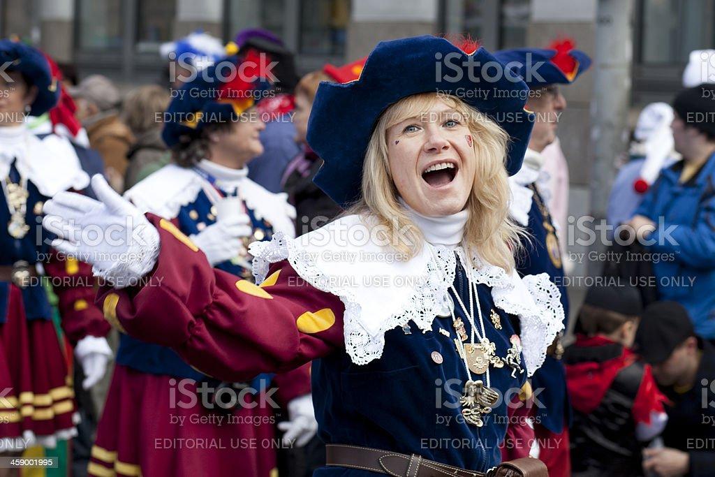 Rosenmontagszug, Street Karneval auf die Rose Monday in Mainz, Deutschland – Foto