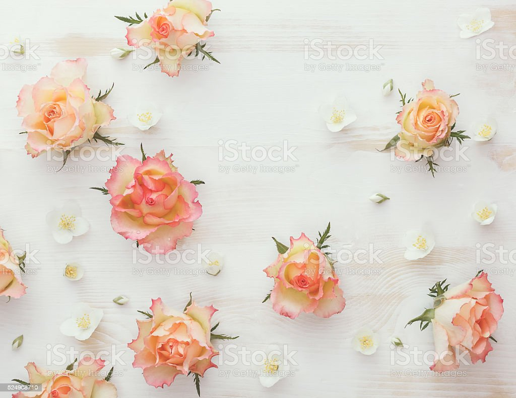 Roses and jasmine natural flower background stock photo more roses and jasmine natural flower background royalty free stock photo izmirmasajfo Gallery