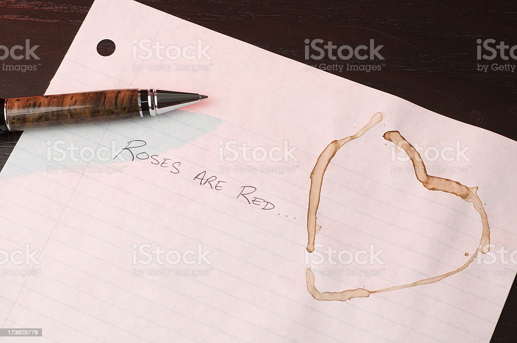 Roses are Red... royalty-free stock photo