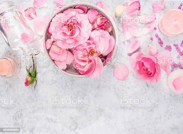 Roses cosmetics set with creambottle petals and sea salt picture id483668682?b=1&k=6&m=483668682&s=612x612&h=1scopihxn8j66rhhanjliix2qd4v3z4tlovt1 mn0n8=