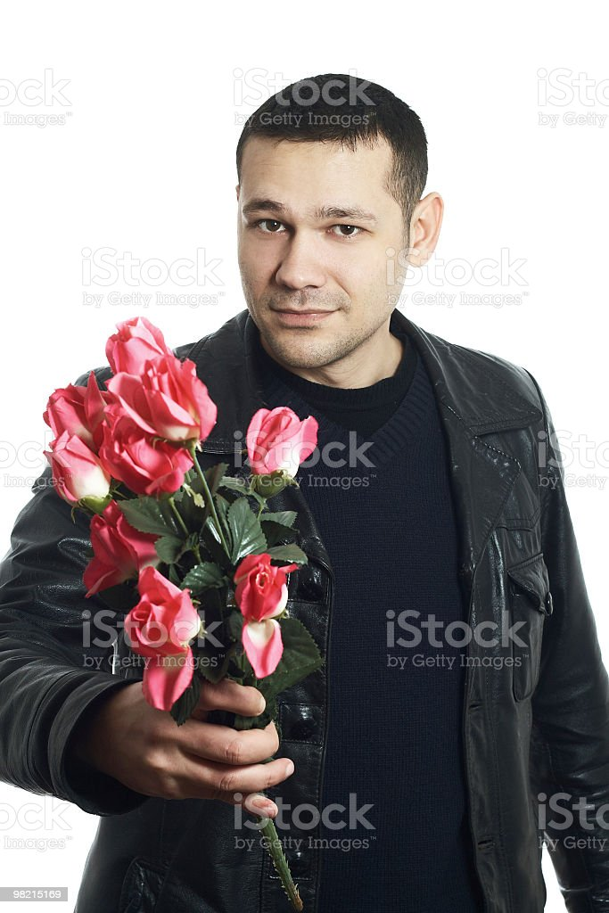 roses for loved one royalty-free stock photo