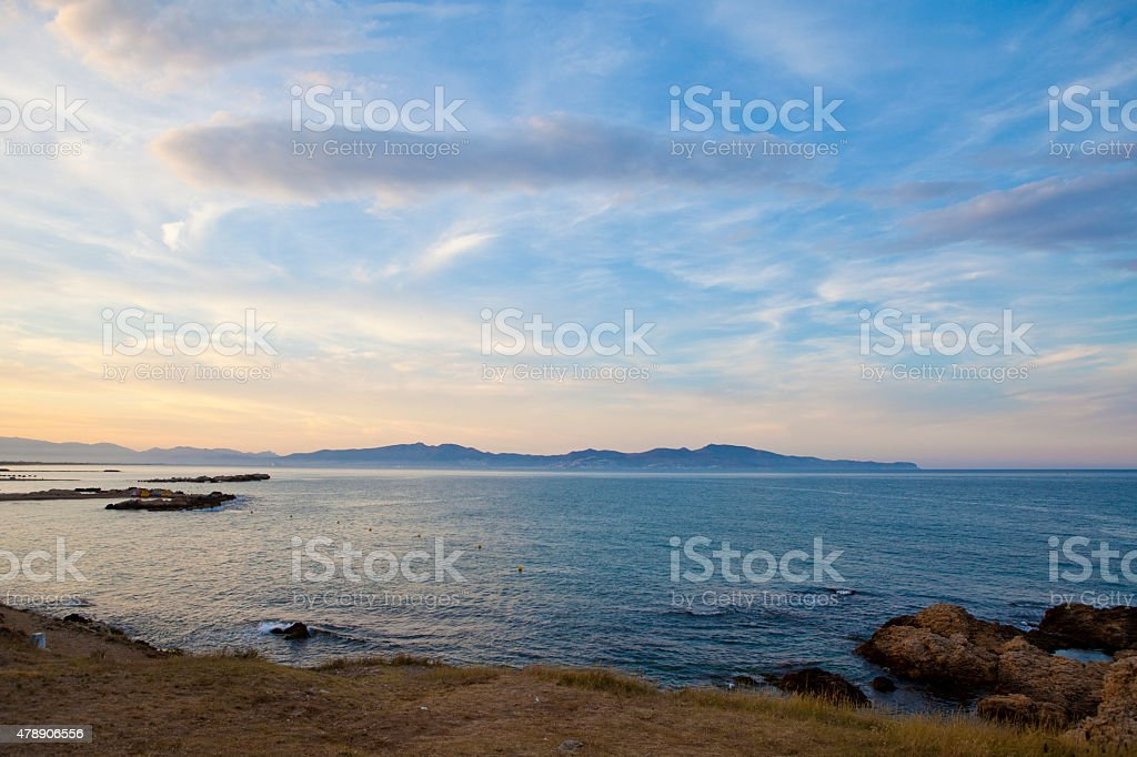 Roses Gulf at sunset stock photo