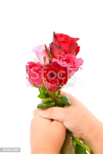 istock roses in hand 503601691