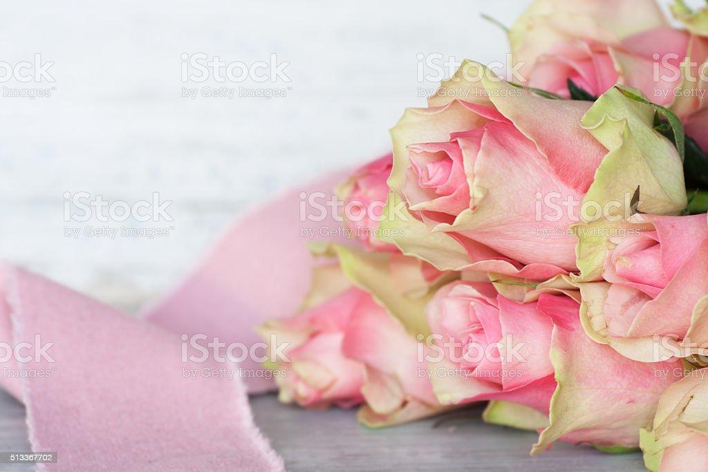 Roses Still Life stock photo