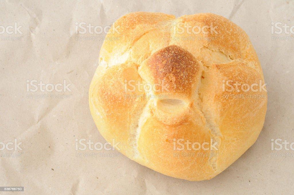 Rosetta, panino Italiano, vista dall'alto stock photo