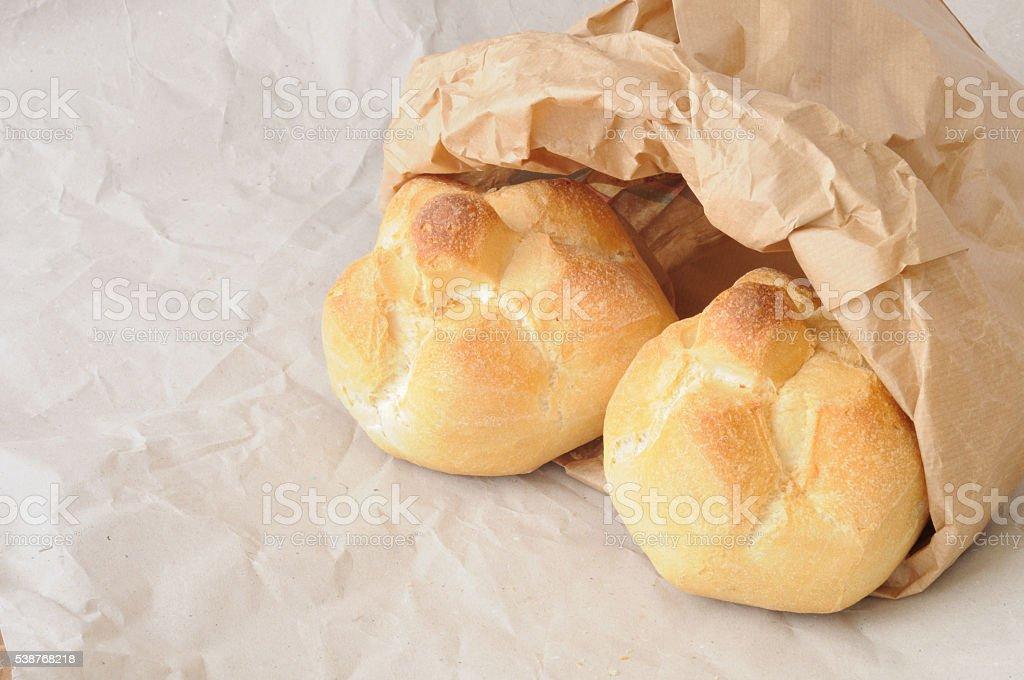 Rosette in a baker's envelope stock photo