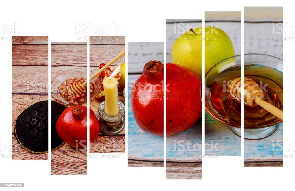 Rosh hashanah jewish New Year holiday concept. royalty-free stock photo